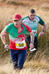 Dorien runs for Wales.